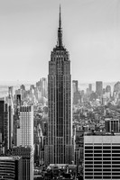 Empire State Building in Black and White