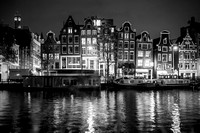 Amsterdam Black and White