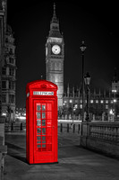 London Black and White and Red