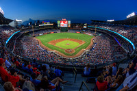 Atlanta Braves Turner Field Fisheye Print