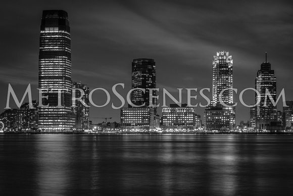 Jersey City Black and White