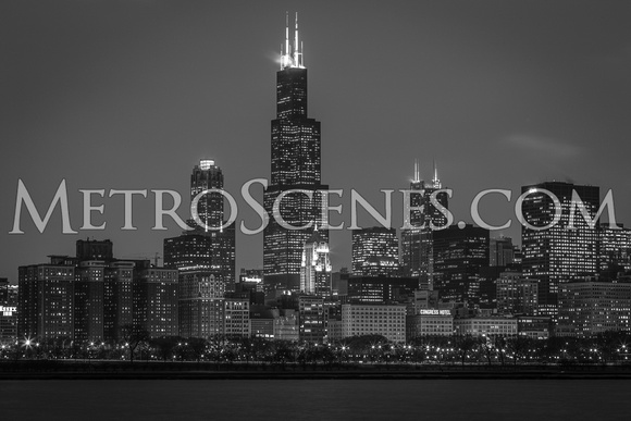 Chicago Black and White