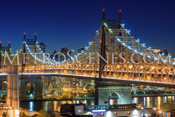 Queensboro Bridge at night
