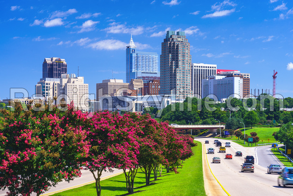 Raleigh Skyline as of August 13, 2014