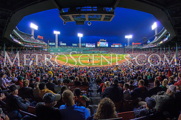 Red Sox Fenway Park Fisheye Print